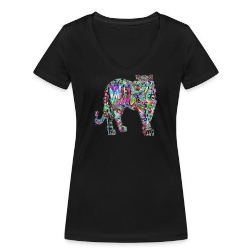 Tigre - T-shirt bio col V Stanley & Stella Femme