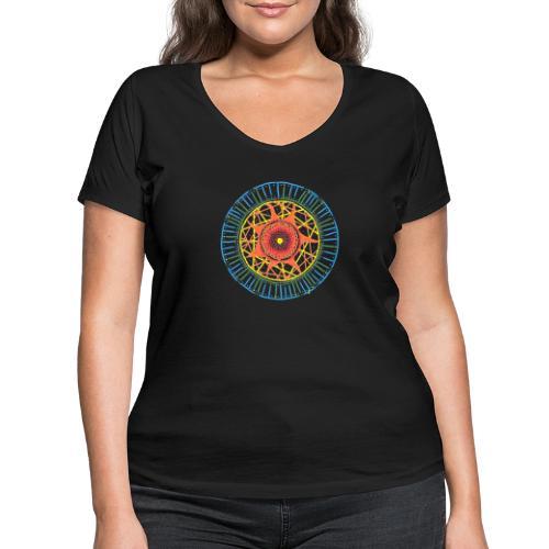 Desire - Women's Organic V-Neck T-Shirt by Stanley & Stella