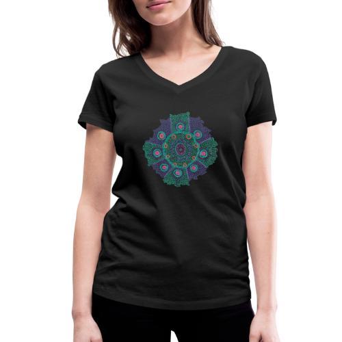 Tribe - Women's Organic V-Neck T-Shirt by Stanley & Stella