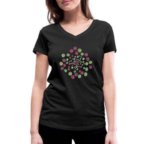 Where? - Women's Organic V-Neck T-Shirt by Stanley & Stella
