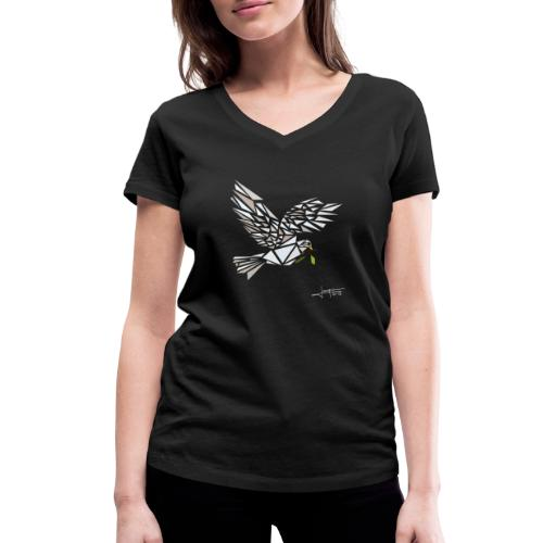 colombus-spread - T-shirt bio col V Stanley & Stella Femme