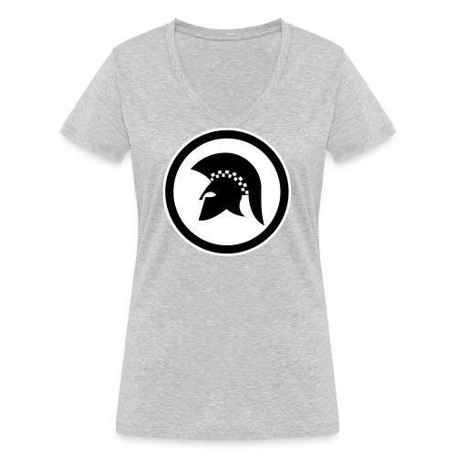 trojan Ska-reggae Zeichen - Frauen Bio-T-Shirt mit V-Ausschnitt von Stanley & Stella