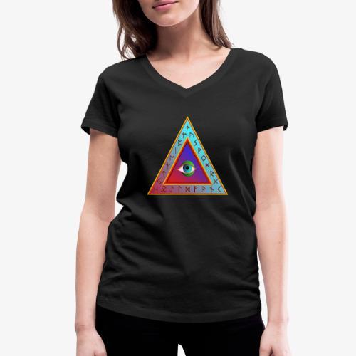 Dreieck - Frauen Bio-T-Shirt mit V-Ausschnitt von Stanley & Stella