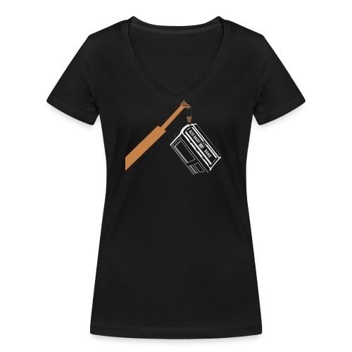 AKUB - Frauen Bio-T-Shirt mit V-Ausschnitt von Stanley & Stella