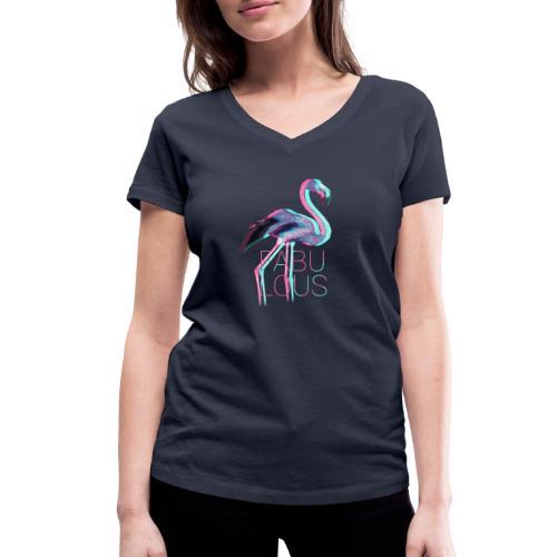 Fabulous - Frauen Bio-T-Shirt mit V-Ausschnitt von Stanley & Stella