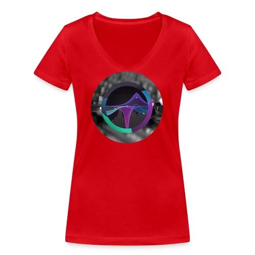 FabFilter Pro Q 3 Circle - Women's Organic V-Neck T-Shirt by Stanley & Stella
