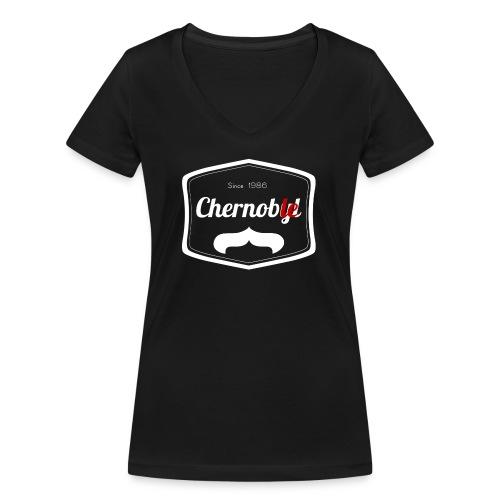 Chernoble - T-shirt bio col V Stanley & Stella Femme