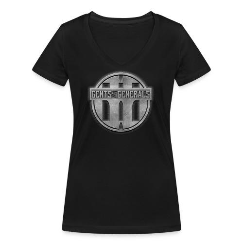 Gents&Generals Special 2019 - Frauen Bio-T-Shirt mit V-Ausschnitt von Stanley & Stella