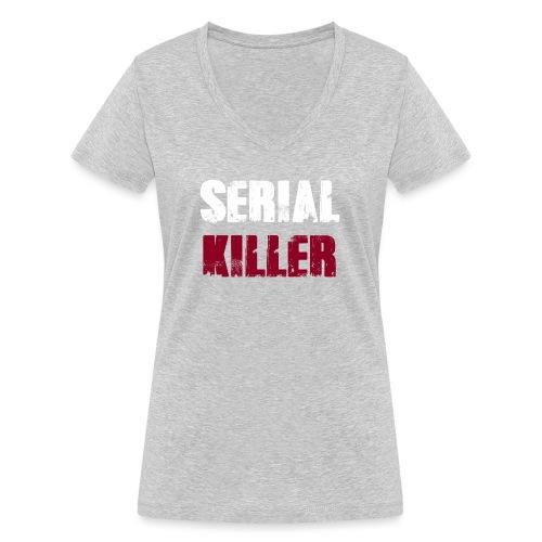Serial Killer - Frauen Bio-T-Shirt mit V-Ausschnitt von Stanley & Stella
