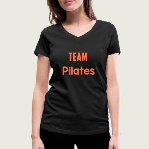 Team pilates - T-shirt bio col V Stanley & Stella Femme