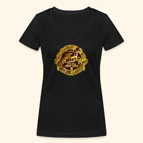 Craft Beer - Frauen Bio-T-Shirt mit V-Ausschnitt von Stanley & Stella