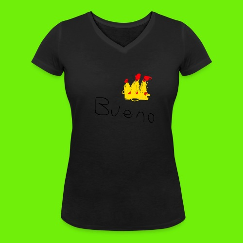 King Bueno Classic Merch - Women's Organic V-Neck T-Shirt by Stanley & Stella