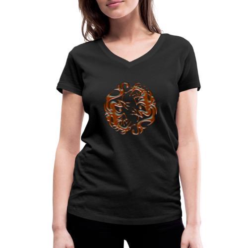 House of dragon - Camiseta ecológica mujer con cuello de pico de Stanley & Stella
