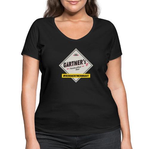 dergaertnerbraut - Frauen Bio-T-Shirt mit V-Ausschnitt von Stanley & Stella
