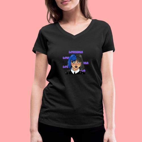 Lynioka Emo - T-shirt bio col V Stanley & Stella Femme