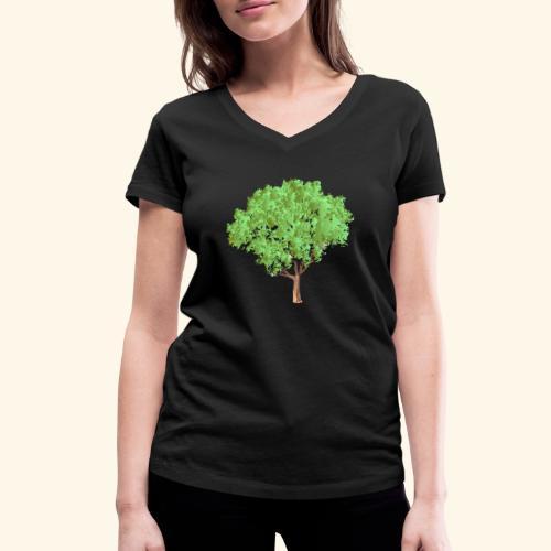 baum 3 - Frauen Bio-T-Shirt mit V-Ausschnitt von Stanley & Stella