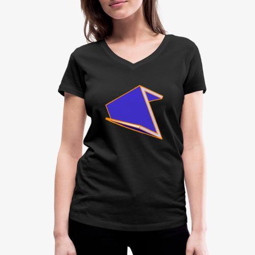 Eiwaz - Frauen Bio-T-Shirt mit V-Ausschnitt von Stanley & Stella