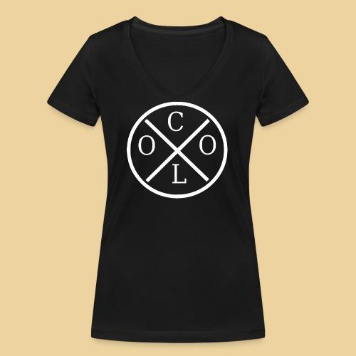 Cool - Frauen Bio-T-Shirt mit V-Ausschnitt von Stanley & Stella