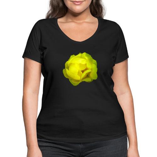 Trollblume gelb Sommer - Frauen Bio-T-Shirt mit V-Ausschnitt von Stanley & Stella