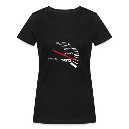 Turbo Tacho Extrem Tuning - Frauen Bio-T-Shirt mit V-Ausschnitt von Stanley & Stella