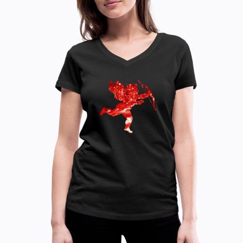 cupid - Women's Organic V-Neck T-Shirt by Stanley & Stella