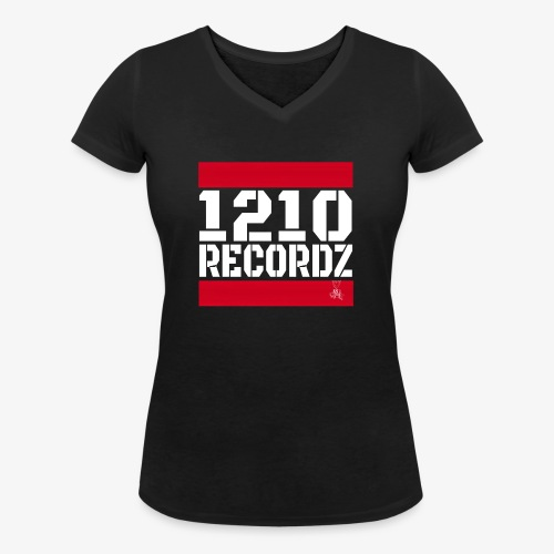1210 Recordz Tank Top W - Frauen Bio-T-Shirt mit V-Ausschnitt von Stanley & Stella