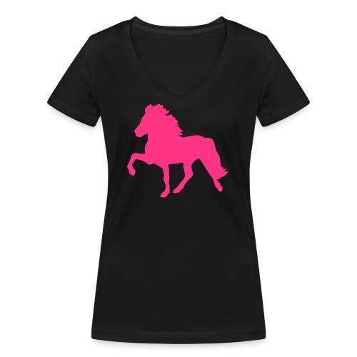 Tölter - Frauen Bio-T-Shirt mit V-Ausschnitt von Stanley & Stella