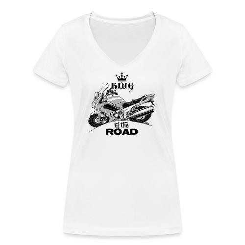 0884 FJR KING of the ROAD - Vrouwen bio T-shirt met V-hals van Stanley & Stella