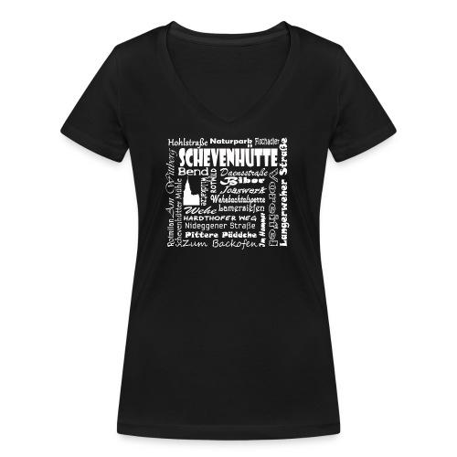 Alles in Schevenhütte - Frauen Bio-T-Shirt mit V-Ausschnitt von Stanley & Stella