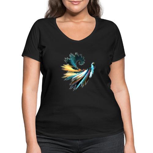 Fractal - T-shirt bio col V Stanley & Stella Femme