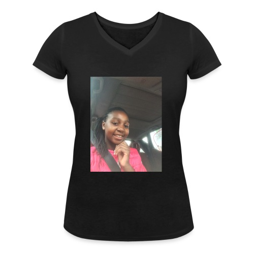 tee shirt personnalser par moi LeaFashonIndustri - T-shirt bio col V Stanley & Stella Femme
