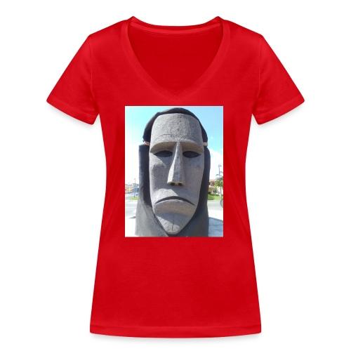 Ottana - T-shirt ecologica da donna con scollo a V di Stanley & Stella