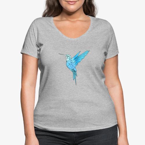 Kolibri Geometrisch - Frauen Bio-T-Shirt mit V-Ausschnitt von Stanley & Stella
