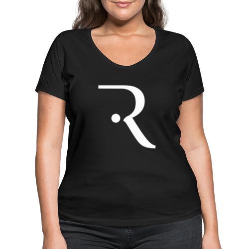 Recxoo - You're Never Alone with a Recxoo - Økologisk Stanley & Stella T-shirt med V-udskæring til damer
