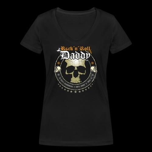 Rock ´n´ Roll Daddy - Frauen Bio-T-Shirt mit V-Ausschnitt von Stanley & Stella