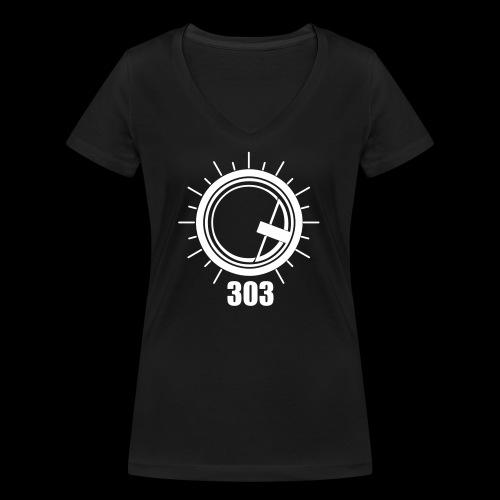 Push the 303 - Women's Organic V-Neck T-Shirt by Stanley & Stella