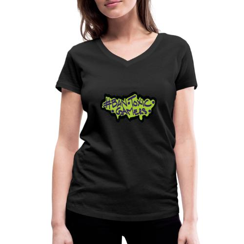 Ban toxic gamers TAG - Women's Organic V-Neck T-Shirt by Stanley & Stella