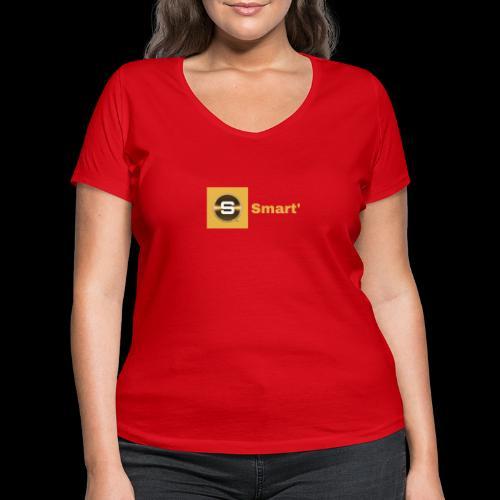 Smart' ORIGINAL Limited Editon - Women's Organic V-Neck T-Shirt by Stanley & Stella