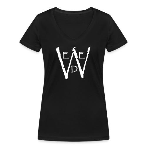 WEED - Frauen Bio-T-Shirt mit V-Ausschnitt von Stanley & Stella
