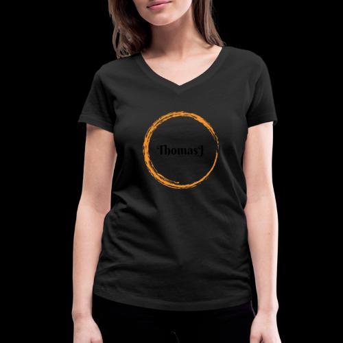 ThomasJ Deluxe 2019 - T-shirt ecologica da donna con scollo a V di Stanley & Stella