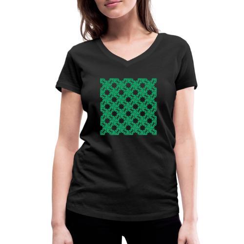 Saint Patrick - T-shirt bio col V Stanley & Stella Femme