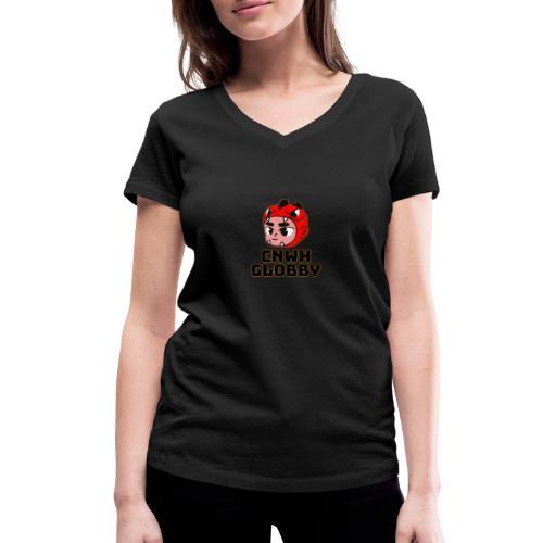 CnWh Globby Merch - Ekologisk T-shirt med V-ringning dam från Stanley & Stella