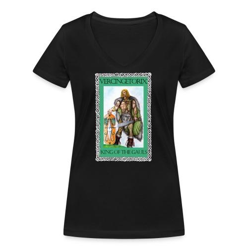 Vercingetorix - Women's Organic V-Neck T-Shirt by Stanley & Stella