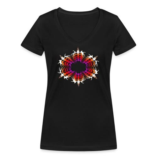 Circle of Friends - Stanley & Stellan naisten v-aukkoinen luomu-T-paita