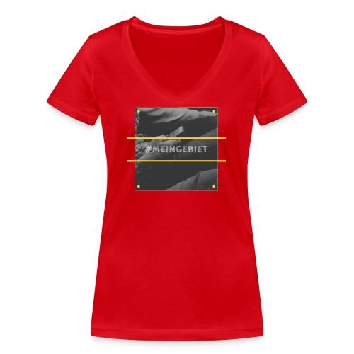 MeinGebiet - Frauen Bio-T-Shirt mit V-Ausschnitt von Stanley & Stella
