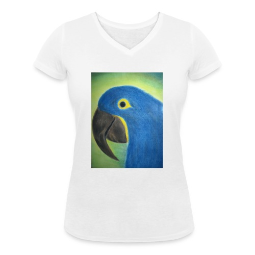 Hyasinttiara - Stanley & Stellan naisten v-aukkoinen luomu-T-paita