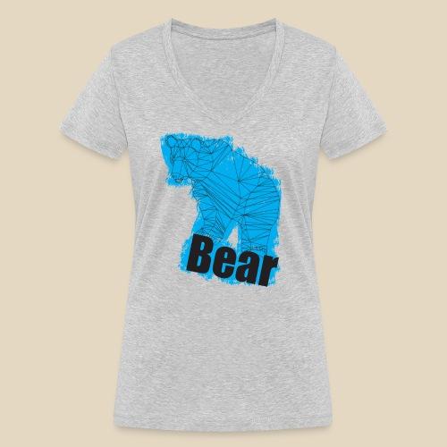 Blue Bear - T-shirt bio col V Stanley & Stella Femme