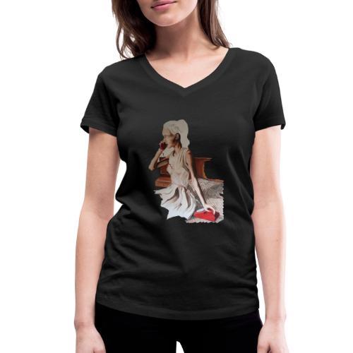 The Call - Frauen Bio-T-Shirt mit V-Ausschnitt von Stanley & Stella