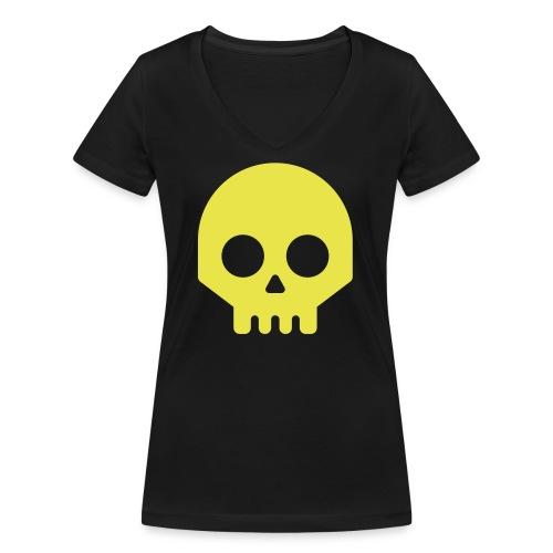 Vikisijästä tekijäksi - Stanley & Stellan naisten v-aukkoinen luomu-T-paita