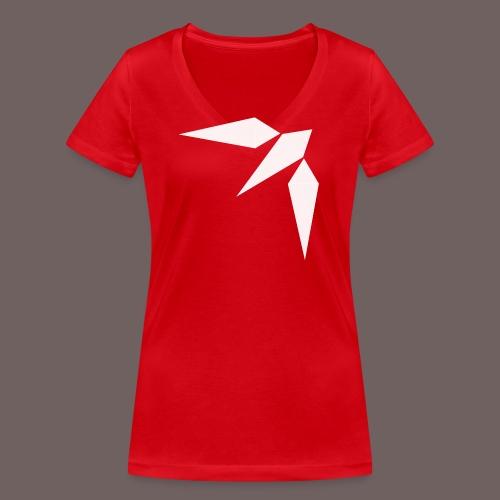 GBIGBO zjebeezjeboo - Rock - Hirondelle - T-shirt bio col V Stanley & Stella Femme